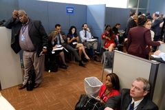 Work of journalists during the UN General Assembly Royalty Free Stock Photos