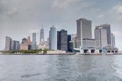 New York, USA - 2. September 2018: Ansicht von New York lizenzfreie stockfotografie
