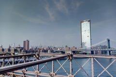 New York USA - September 2, 2018: Sikt av New York royaltyfria foton