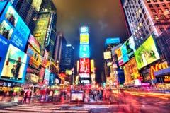 New York USA - 14th av April 2013: Time Square Arkivfoto