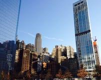 New York van de binnenstad Stock Afbeeldingen