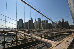 New York van de horizon stad Royalty-vrije Stock Afbeelding