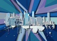 New York van de horizon stad Royalty-vrije Stock Foto