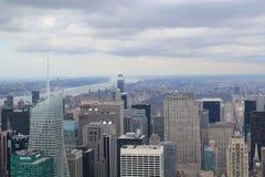 New York van hierboven Royalty-vrije Stock Fotografie