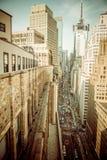 New York vanaf Dakbovenkant Royalty-vrije Stock Afbeelding