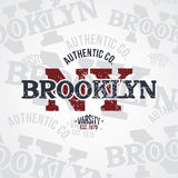 New york varsity theme Stock Image