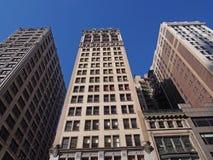 New York, vecchi edifici per uffici Fotografia Stock Libera da Diritti