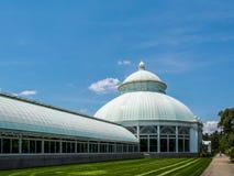 New York - Vereinigte Staaten, Enid Haupt Conservatory in New York botanisches Gartenarbeitnew york city lizenzfreies stockbild