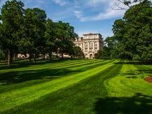 New York - Verenigde Staten - de Mertz-Bibliotheek in de Botanische Tuin van New York in Bronx in New York stock afbeelding
