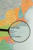 New York vergrößerte Stockfotos