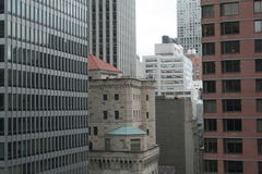 New york. Vie of new york building down town of new york city Stock Image