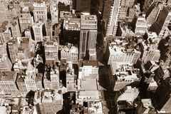 New york view from above Stock Photo
