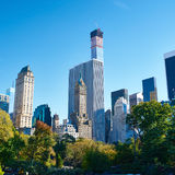 New York view from Central Park Royalty Free Stock Photos