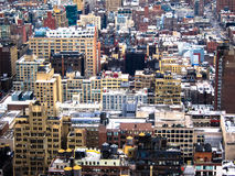 New York View 2. View of New York City from a skyscraper Royalty Free Stock Photos