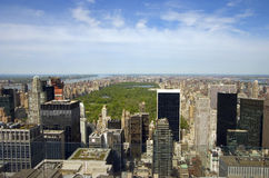 New York. View from The Top of the Rock Royalty Free Stock Image