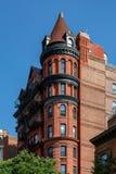 New York, ville/Etats-Unis - 10 juillet 2018 : Vieux bâtiments de Brooklyn H Photos stock