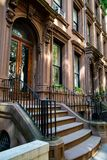 New York, ville/Etats-Unis - 10 juillet 2018 : Vieux bâtiments de Brooklyn H Image stock