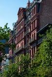 New York, ville/Etats-Unis - 10 juillet 2018 : Vieux bâtiments de Brooklyn H Photos libres de droits