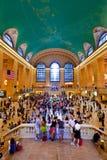 Station centrale grande pendant l'heure de pointe d'après-midi Photos libres de droits