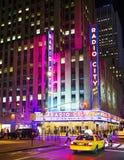 New York, ville par radio Photo stock