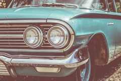 New York vintage car. A typical New York vintage car in Manhattan Royalty Free Stock Image