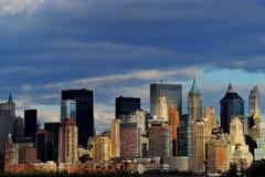New York vom Jersey-Ufer Lizenzfreie Stockfotos
