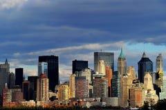 New York von anderer Küste Stockbilder