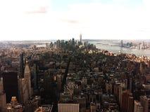 New York von oben Stockfotos