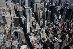 New York von oben Lizenzfreies Stockbild