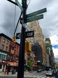 New York vous aimera toujours Photographie stock