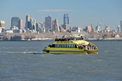New York Water Taxi Royalty Free Stock Images