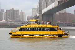 New York Water Taxi Royalty Free Stock Photo