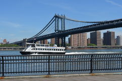 New York Waterways Ferry Royalty Free Stock Photos