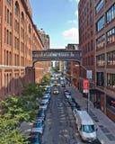 New York Westseite Stockbild