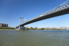 New York Williamsburg Bridge Royalty Free Stock Images