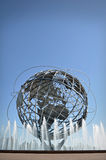 New York World's Fair Unisphere. The Unisphere is a 12-story high, spherical stainless steel representation of the Earth. Located in Flushing Meadows – Corona Royalty Free Stock Photography