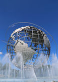 1964 New York World s Fair Unisphere in Flushing Meadows Park Royalty Free Stock Photo