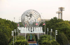 1964 New York World's Fair Unisphere in Flushing Meadows Park Royalty Free Stock Photography