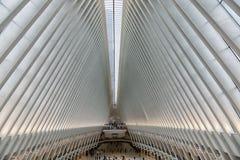 New York World Trade Center estação do 11 de setembro imagens de stock