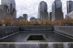 New York World Trade Center memoriale & museo nazionali dell'11 settembre fotografia stock libera da diritti