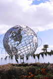 New York Worlds Fair Unisphere in Flushing Meadows Park Stock Photo