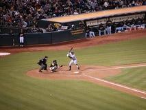 New York Yankees Alex Rodriguez στο ρόπαλο Στοκ εικόνες με δικαίωμα ελεύθερης χρήσης
