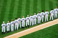 New York Yankees All-Time Greats Royalty Free Stock Photos