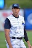 New York Yankees baseball player Alex Rodriguez rehab assignment Stock Image