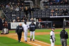 New York Yankees gang-weg Stock Fotografie