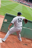 New York Yankees pitcher C.C. Sabathia Stock Image