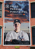 New York Yankees-Pride Passion Pinstripes-Werbung stockbild