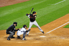 New York Yankees versus Baltimore Orioles Royalty Free Stock Images