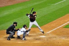 New York Yankees versus Baltimore Orioles. Baltimore Orioles playing against New York Yankees Royalty Free Stock Images