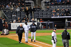 New York Yankees Walk-Off Stock Photography